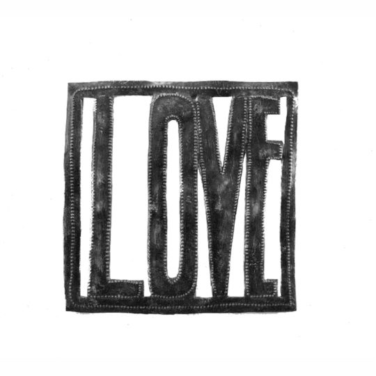 love square oil drum sign