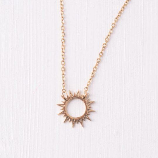 mallory sun pendant