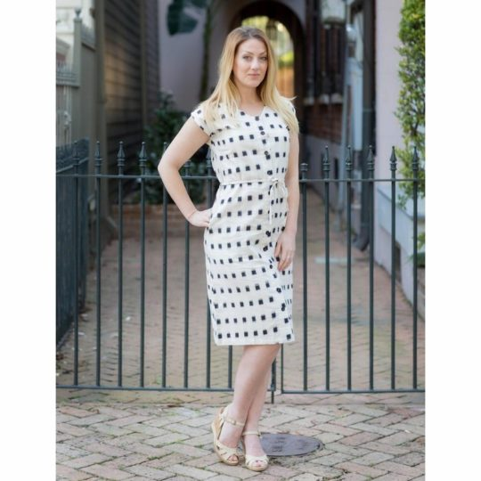 maxwell button dress