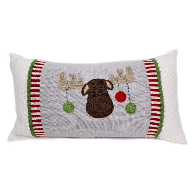 moose lumbar pillow
