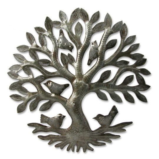 nested tree of life oil drum
