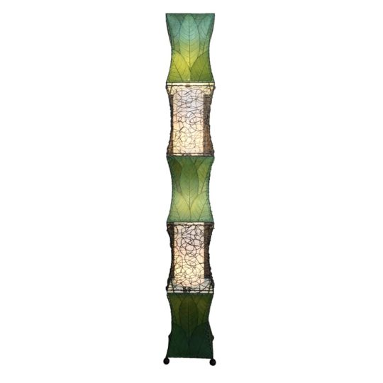 pagoda cocoa giant lamp green