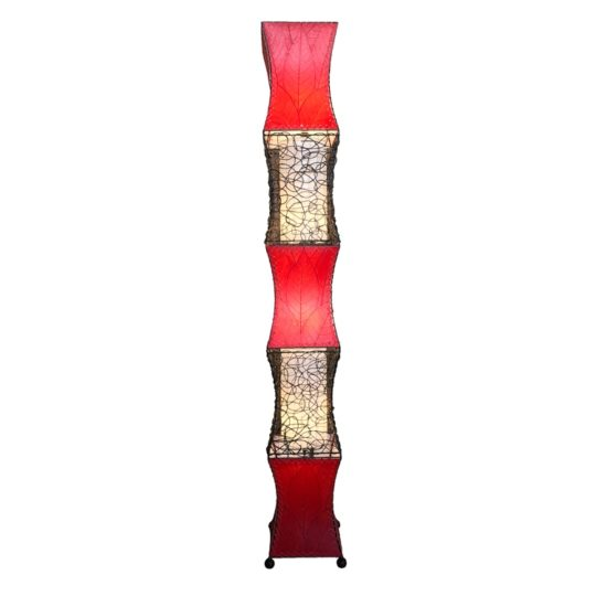 pagoda cocoa giant lamp red