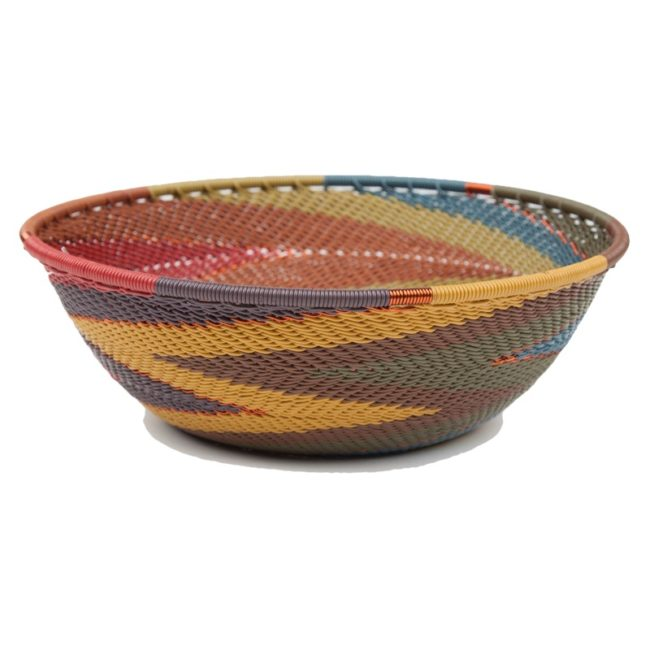 painted desert telephone wire medium bowl