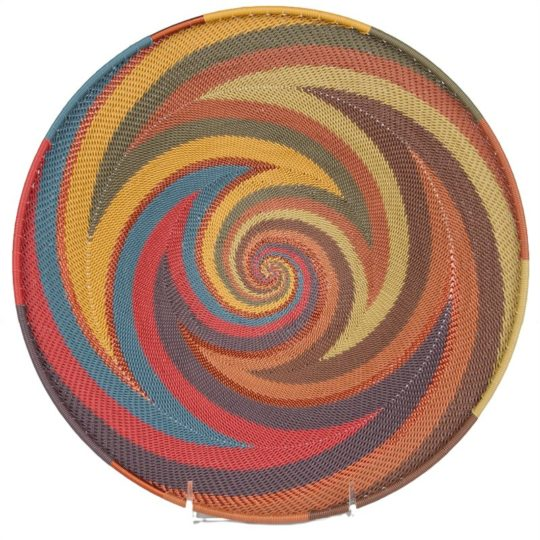 painted desert telephone wire medium platter