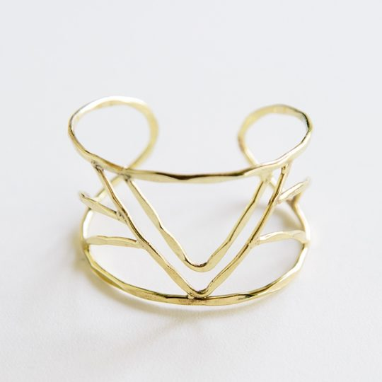 peaks valleys cuff gold 2