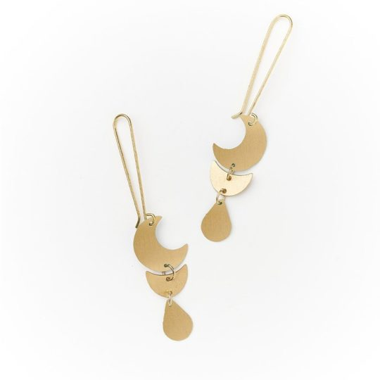 rajani earrings gold drop