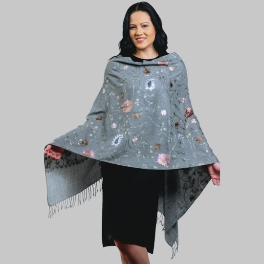 rajika embroidered shawl 1