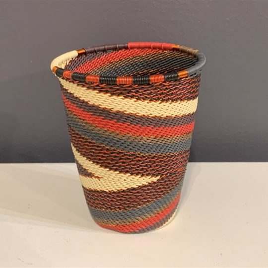 red pepper telephone wire cup