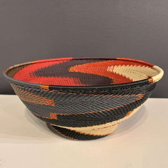 red pepper telephone wire large bowl