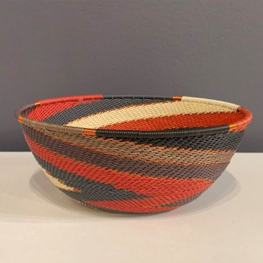 red pepper telephone wire medium bowl