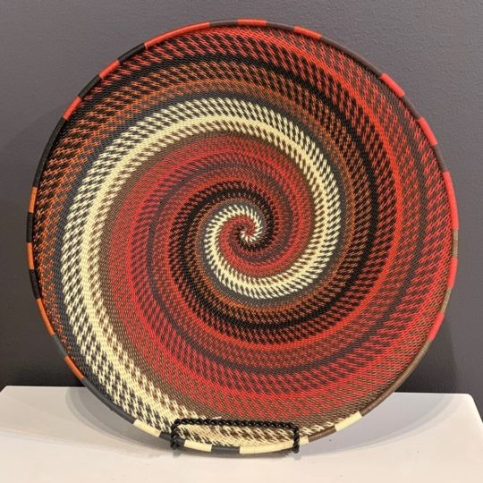 red pepper telephone wire medium platter