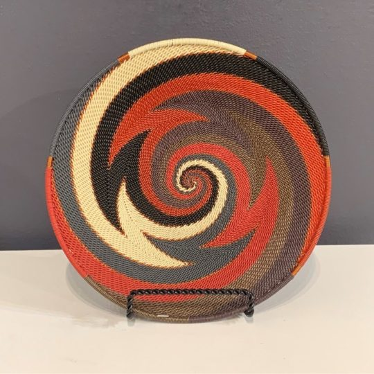 red pepper telephone wire mini platter