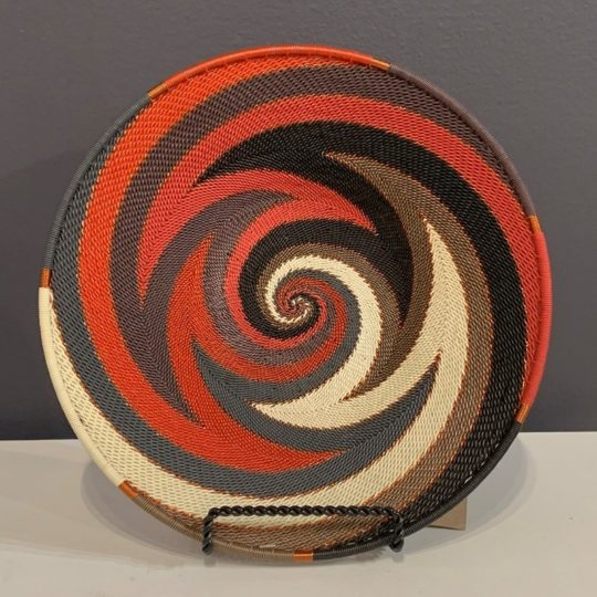 red pepper telephone wire small platter