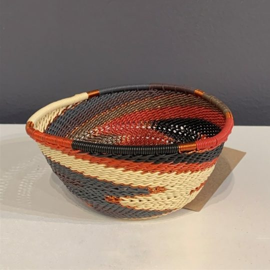 red pepper telephone wire triangle bowl