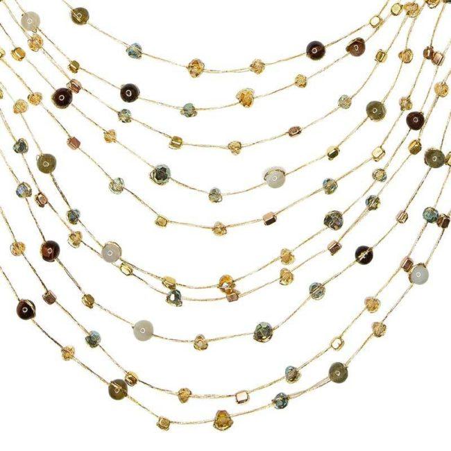 reena necklace lichen closeup