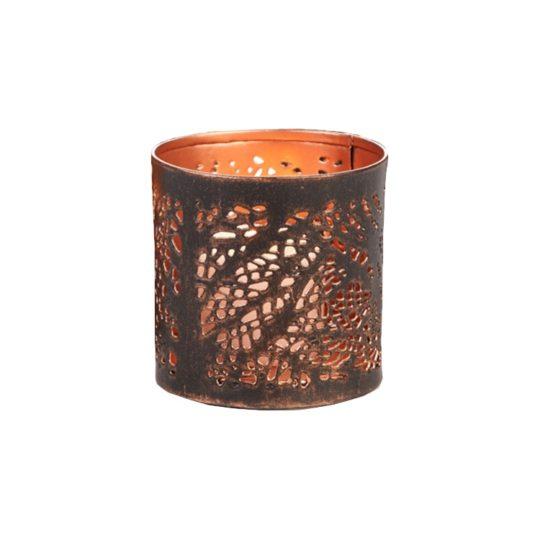 river birch tea light holder