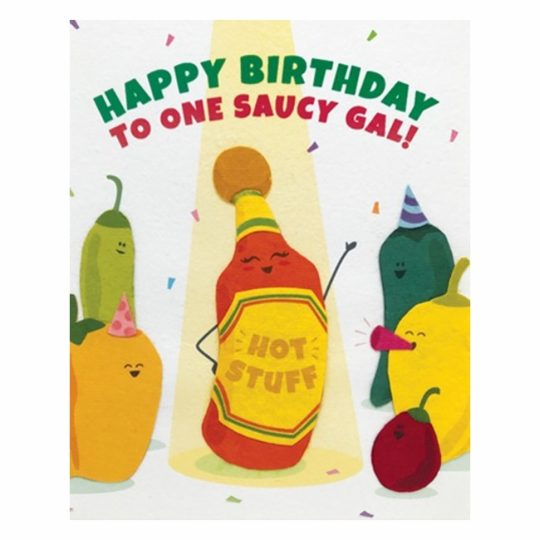 saucy gal card