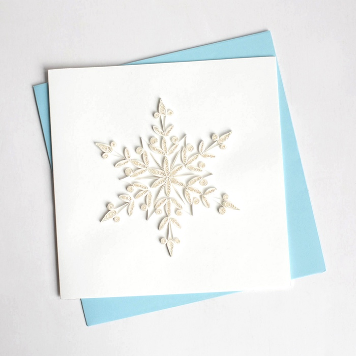 snowflake-quilling-card