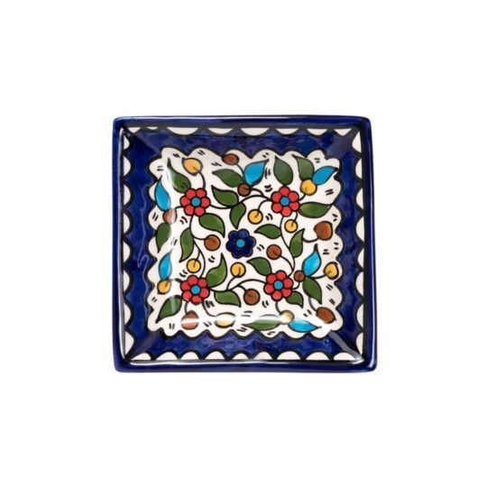 square ceramic dipping dish