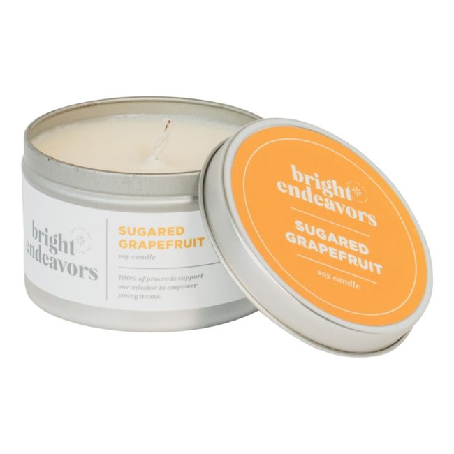 sugared grapefruit candle 8oz updated
