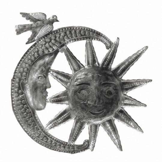 sun in moon oil drum