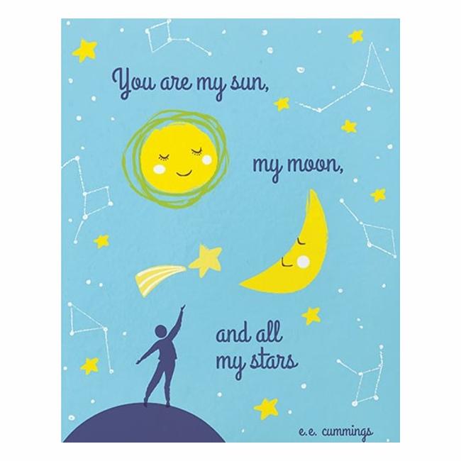 sun moon stars card