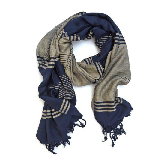 sundus scarf navy