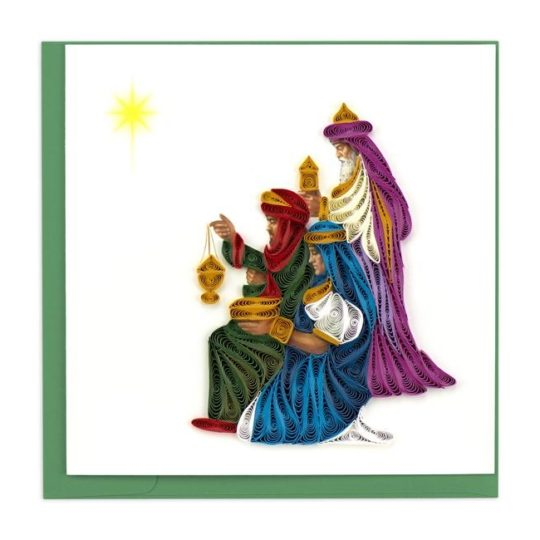 three wisemen quilling card
