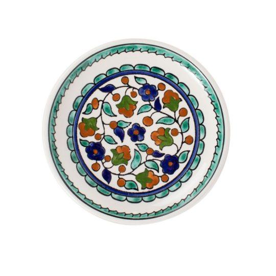turquoise ceramic dish
