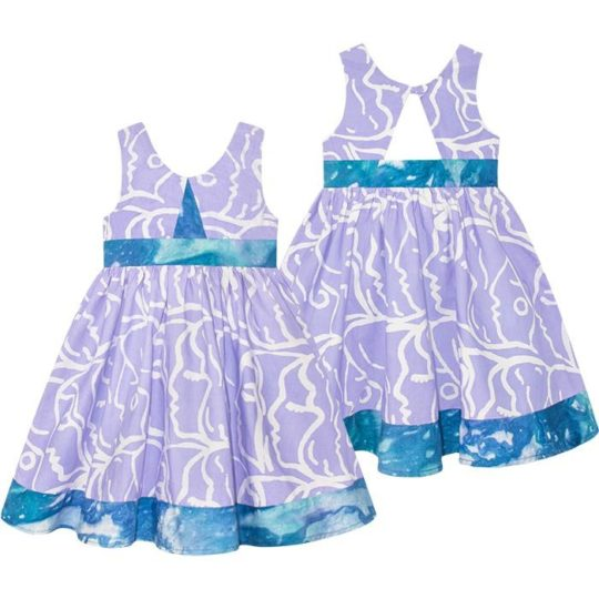 twirl dress sisters violet
