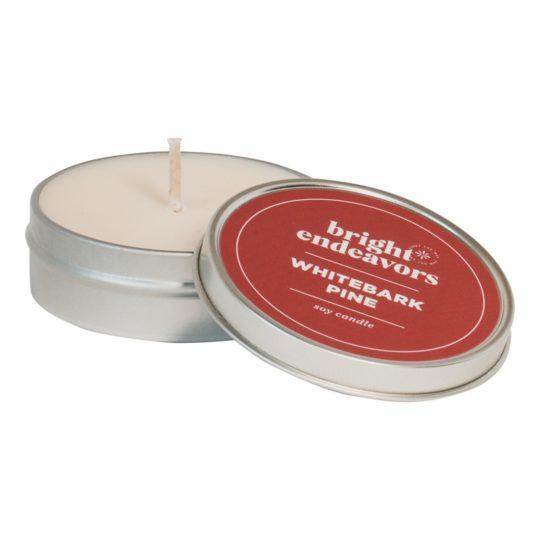 whitebark pine soy candle 4oz