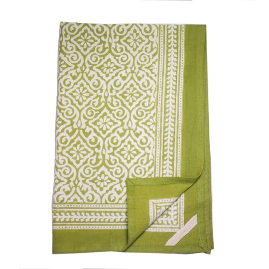 jaipur green kitchen towel