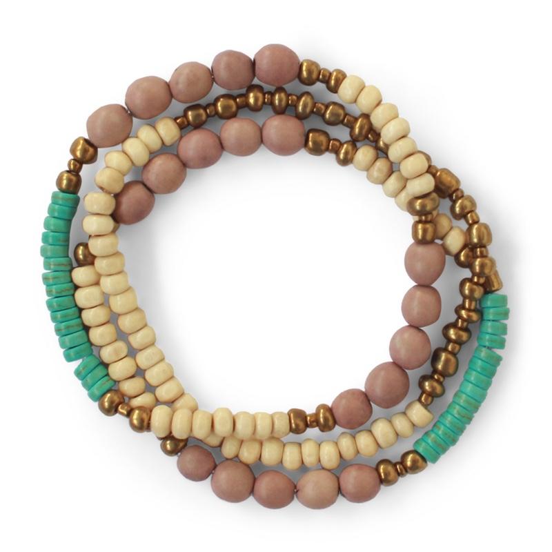 Canoa bracelet fawn