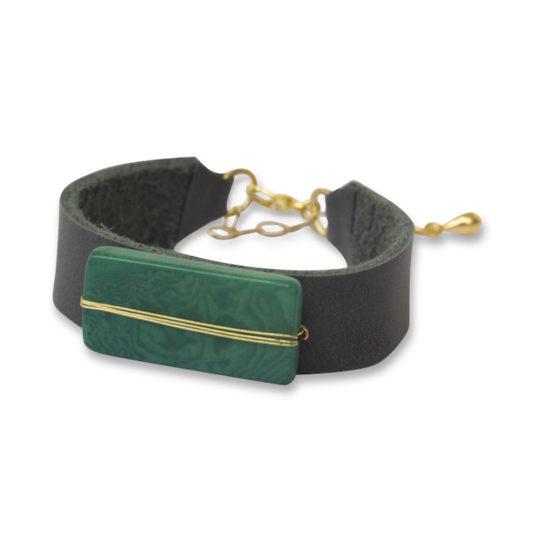 astrid bracelet emerald