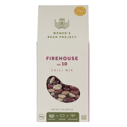 firehouse chili mix, womens bean project chili