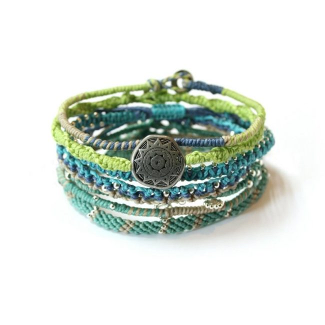 earth bracelets sea breeze