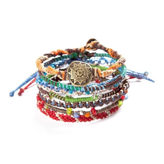 earth bracelets rainbow 7