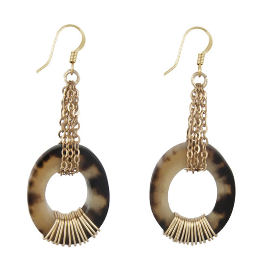 horn Rowen earrings