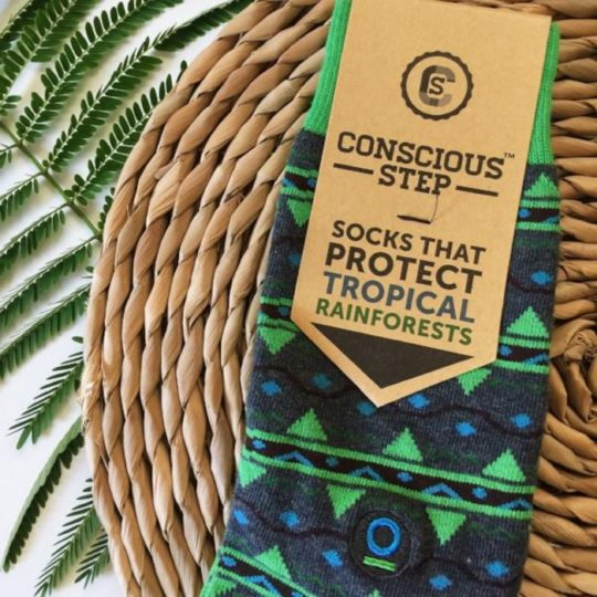 protect tropical rainforest socks