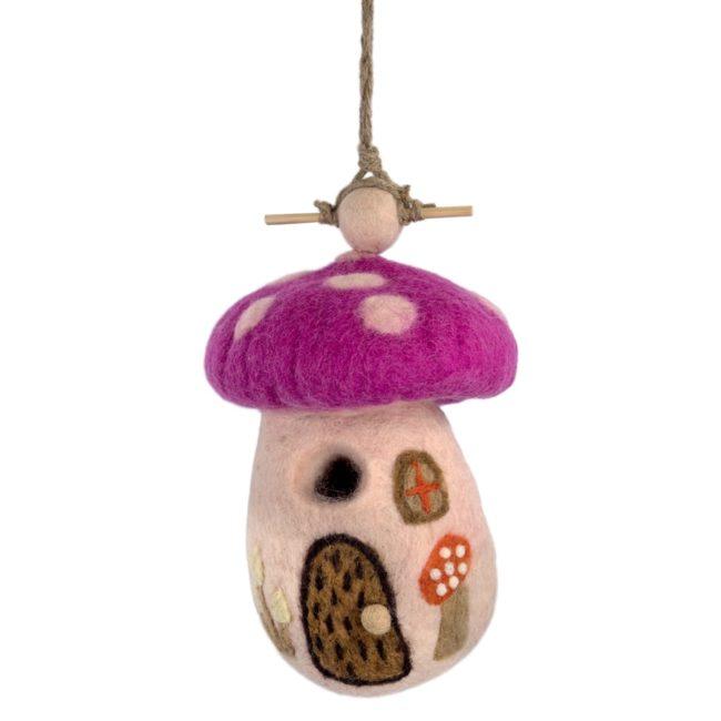 felt-birdhouse-magic-mushroom