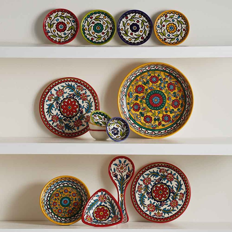 ceramic dishes from palestine