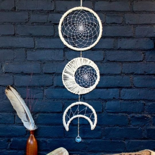 moon phase dream catcher styled