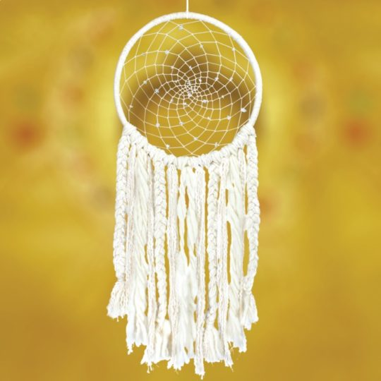 small sun dream catcher styled 1