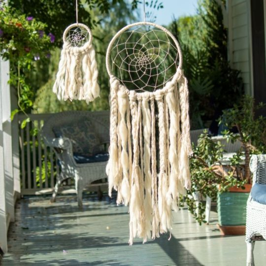 small sun dream catcher styled 2