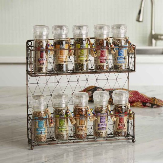 fair trade spice rack