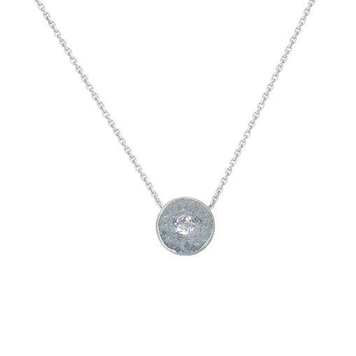 Diamond peacebomb Necklace