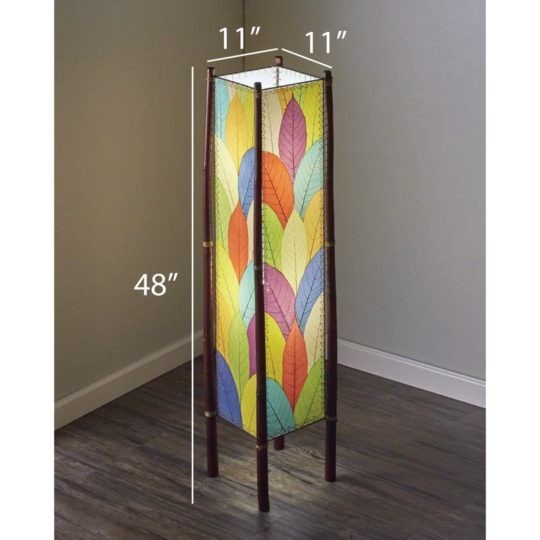 leaf floor lamp multi dimensions