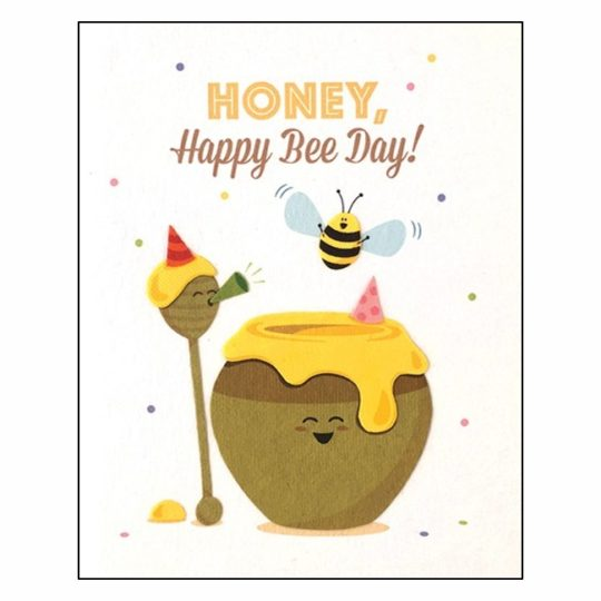 honey happy bee day