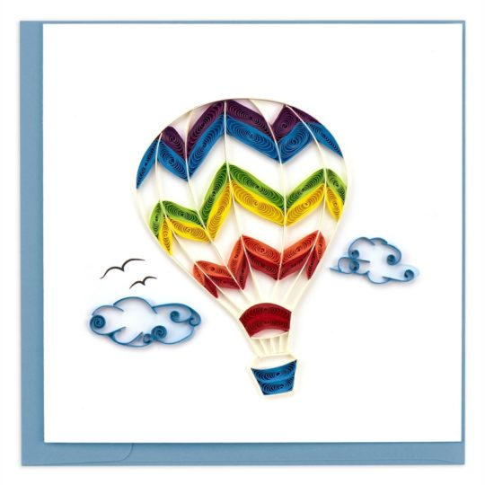 hot air balloon quilling car
